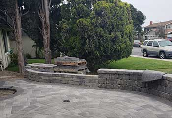 Retaining Wall Installation | Backyard Pavers Mission Viejo